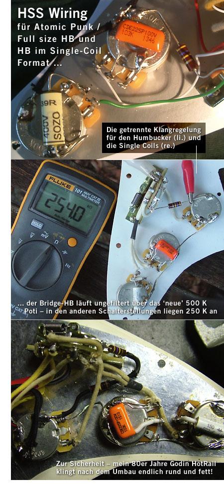 lefthand gear.de / HSS Wiring Harness und EVH für Fender ... on