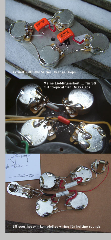 Marvelous Lefthand Gear De Wiring Harness Gibson Les Paul Sg Es 335 Left Wiring Digital Resources Helishebarightsorg